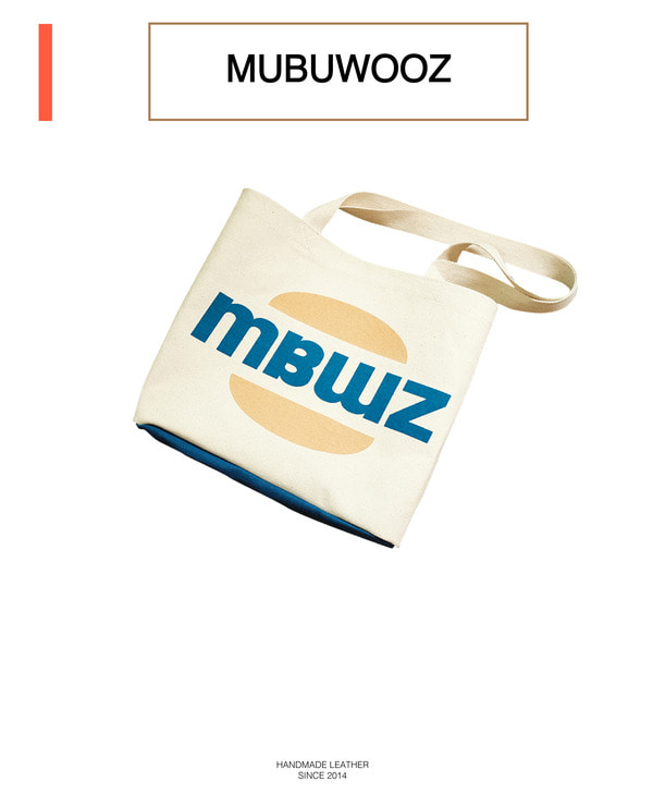 MBWZ eco bag _ blue