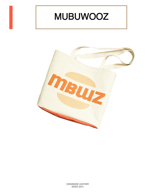 MBWZ eco bag _ orange