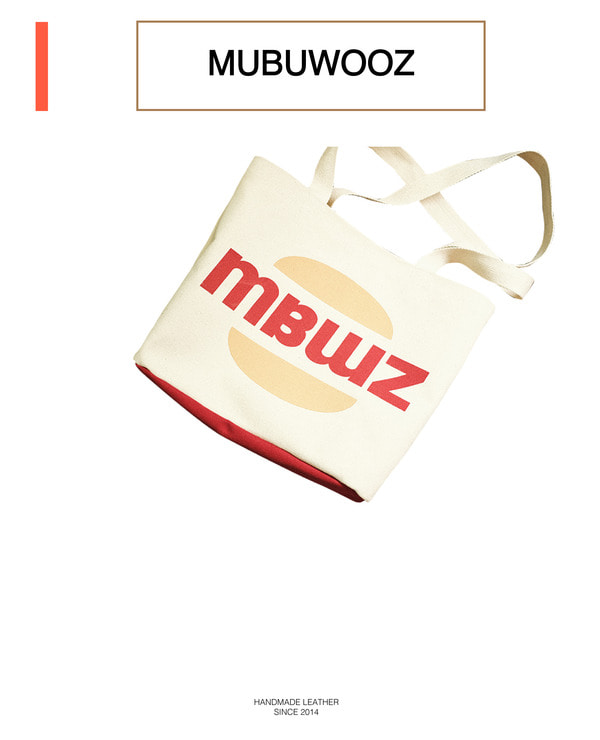MBWZ eco bag _ red